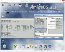 AmigaOS4.1 on WinUAE !